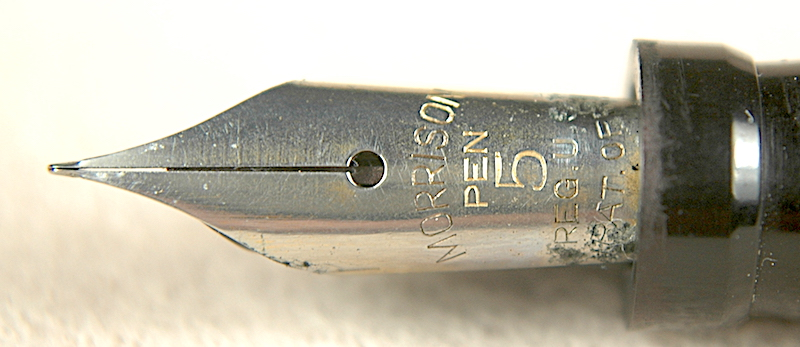 Vintage Pens: 1025: Morrison's: Black Beauty