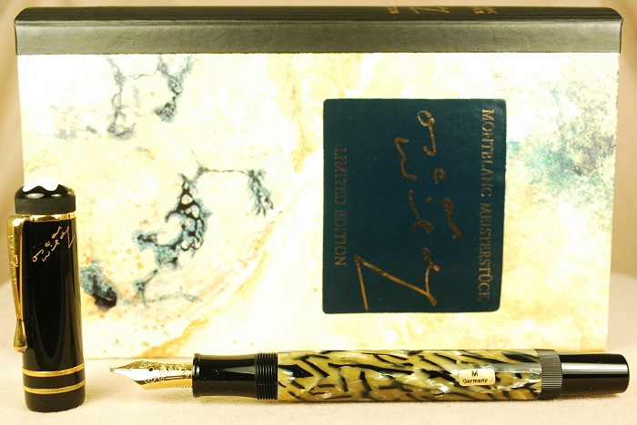 Pre-Owned Pens: 1606: Mont Blanc: Oscar Wilde Writer's Series