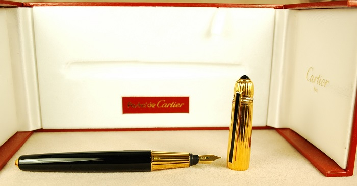 Pre-Owned Pens: 1672: Cartier: Pasha de Cartier