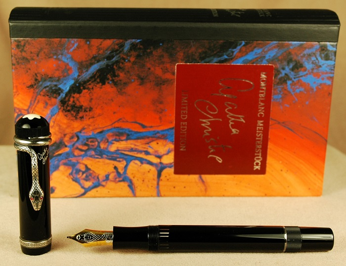 Pre-Owned Pens: 1686: Mont Blanc: Agatha Christie Writers Series