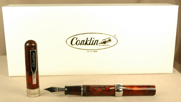 Pre-Owned Pens: 1797: Conklin: Mark Twain Crescent Limited Edition