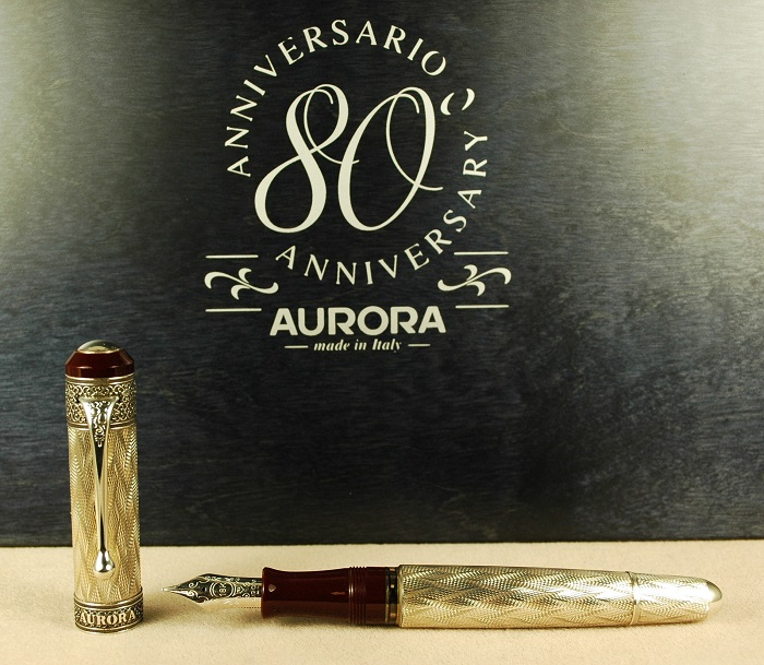 Pre-Owned Pens: 1842: Aurora: 80th Anniversary