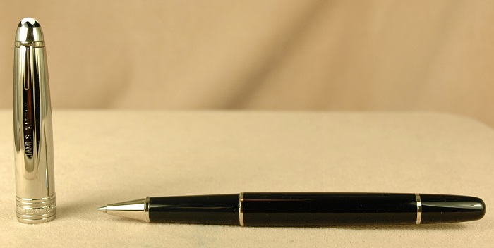 Pre-Owned Pens: 1931: Mont Blanc: Doue Black & Steel