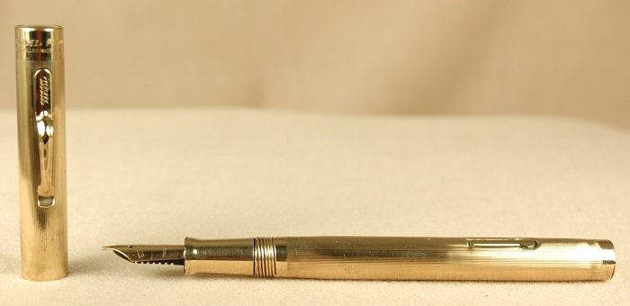 Vintage Pens: 1931: Wahl-Eversharp: Gold Filled Fountain Pen