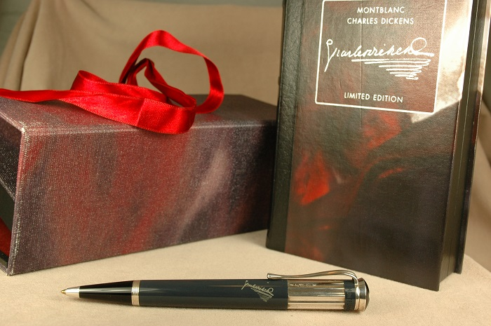 Pre-Owned Pens: 1986: Mont Blanc: Writers Series Charles Dickens