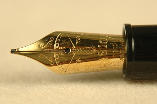 Pre-Owned Pens: 1988: Mont Blanc: Writers Series Friedrich Schiller