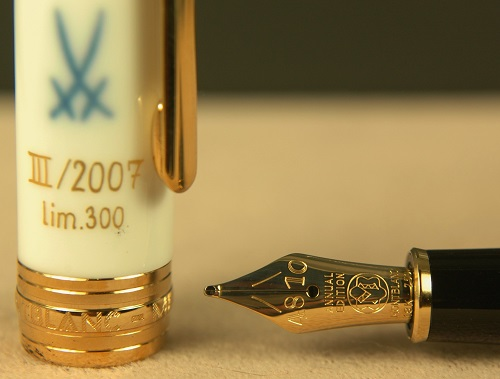 Pre-Owned Pens: 1995: Mont Blanc: Mythical Creatures Crane