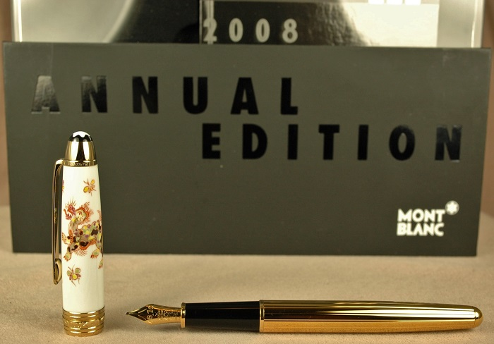Pre-Owned Pens: 1996: Mont Blanc: Mythical Creatures Cerberus