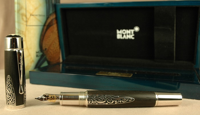 Pre-Owned Pens: 1999: Mont Blanc: Patron of the Arts Alexander von Humboldt