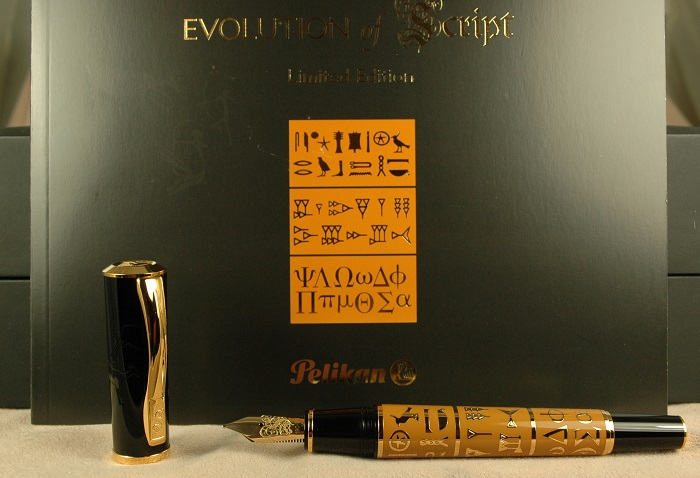 Pre-Owned Pens: 2002: Pelikan: Evolution of Script