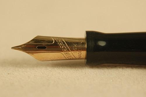 Vintage Pens: 2118: Wahl-Eversharp: Black Chased Hard Rubber