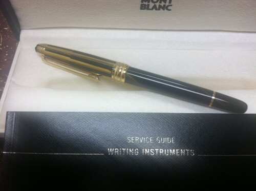 Pre-Owned Pens: : Mont Blanc: Doue' Gold/Black
