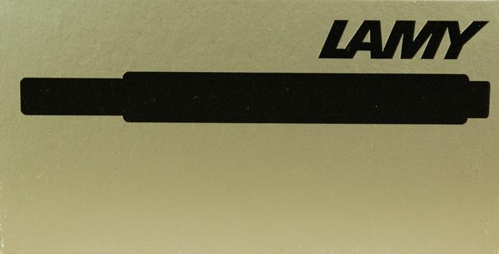 Ink: LT10BK: Lamy: Ink Cartridge--Black
