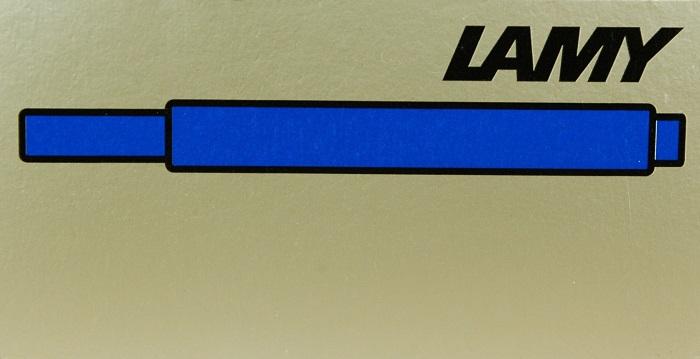 Ink: LT10BL: Lamy: Ink Cartridge--Blue