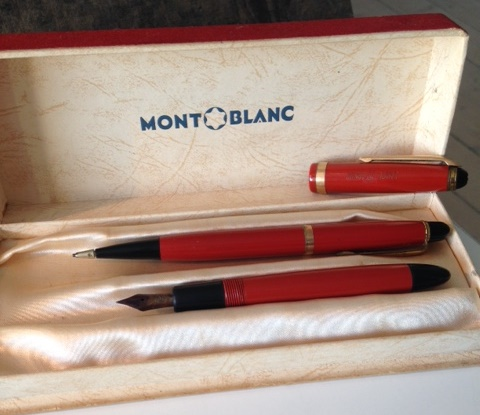 Pens and Pencils: : Mont Blanc: no 212 and no 12