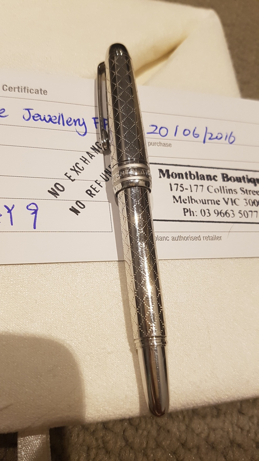 Pens and Pencils: : Mont Blanc: MBJB3F4Y9