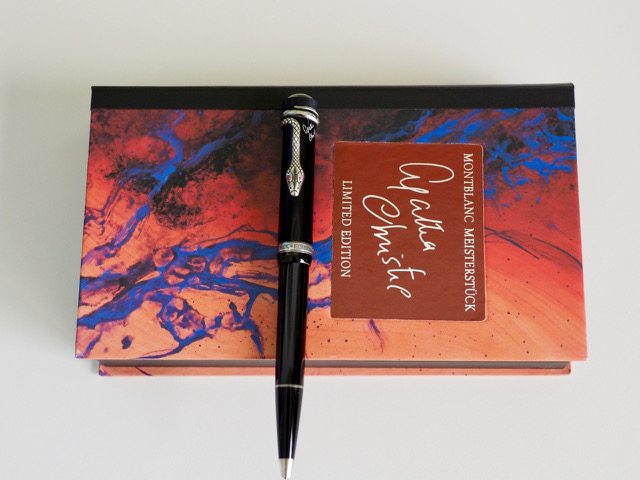 Pre-Owned Pens: : Mont Blanc: Agatha Christie Ballpoint