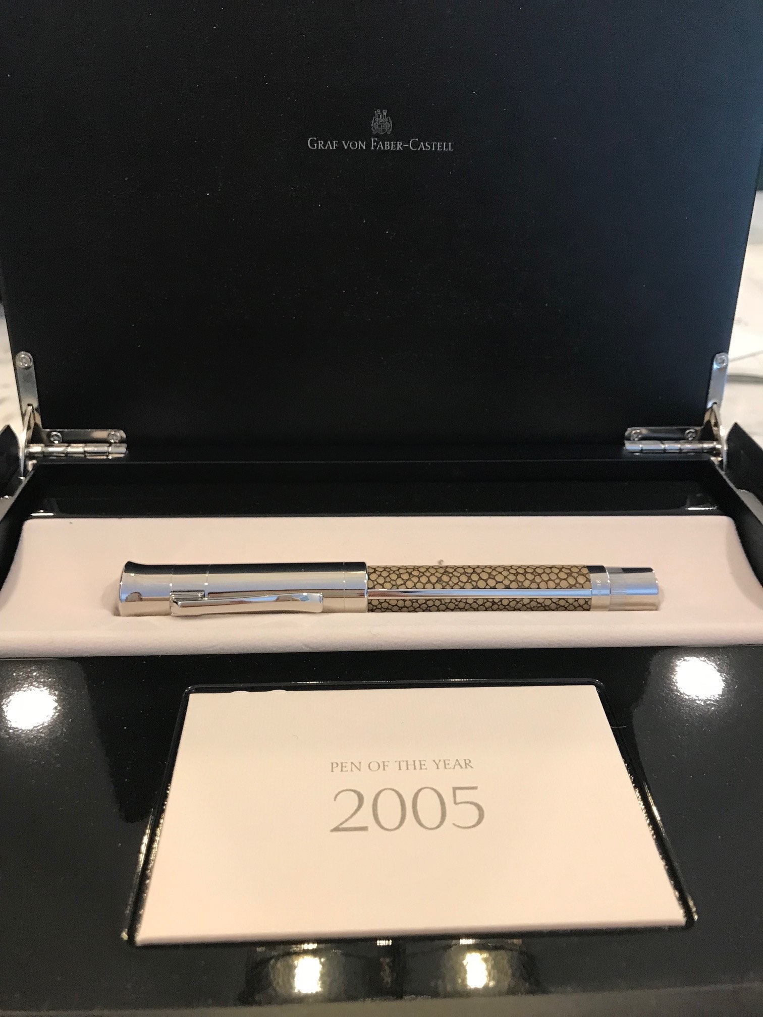 Pens and Pencils: : Faber Castell: Pen of the Year 2005