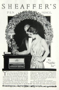 Sheaffer Lifetime pen set ad