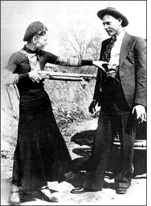 Even notorious murderer and thief Clyde Barrow was courteous enough to write a thank you note. He made sure to take a quick break from life on the run with Bonnie in 1934 to thank Henry Ford for building superior getaway cars!