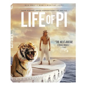 "Here's the ""Life of Pi"" box cover. My dad couldn't wait to see it, while I was more resistant."
