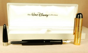 This is the first resurrection of the Eversharp Skyline made in a limited edition dedicated to Walt Disney.