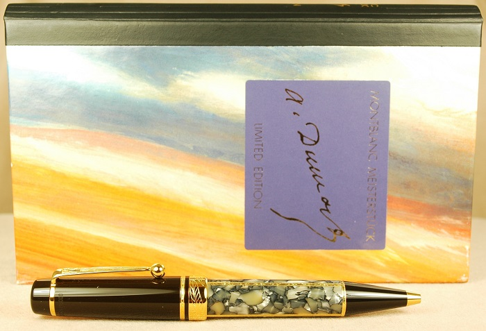Pre-Owned Pens: 1609: Mont Blanc: Alexandre Dumas Writers Series
