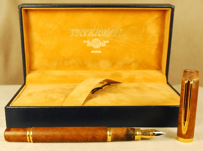 Pre-Owned Pens: 1650: Waterman: LeMan 100 Briarwood