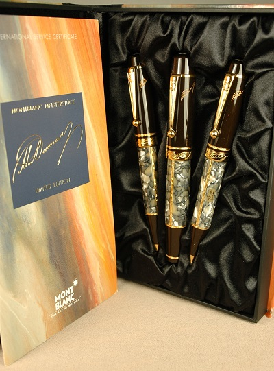 Pre-Owned Pens: 1991: Mont Blanc: Writers Series Alexandre Dumas