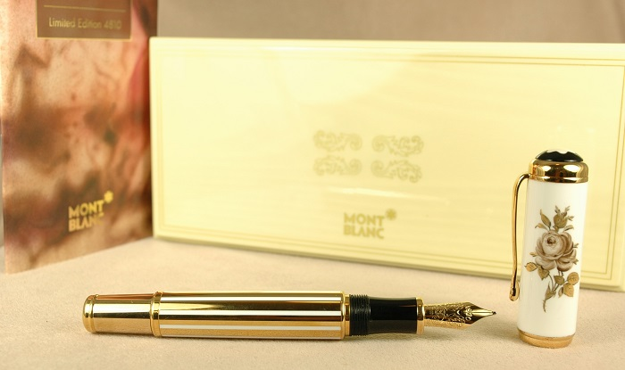 Pre-Owned Pens: 1998: Mont Blanc: Patron of the Arts Marquise de Pompadour
