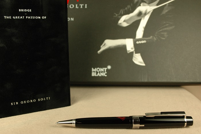 Pre-Owned Pens: 2001: Mont Blanc: Georg Solti Limited Edition