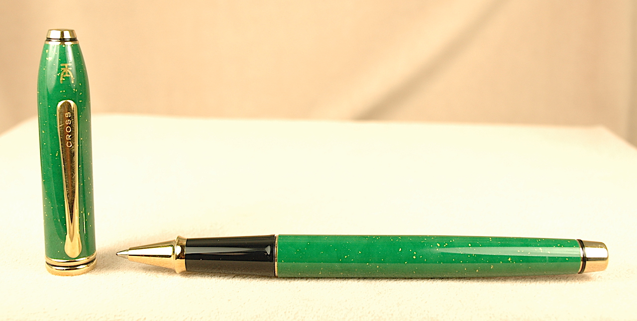 Pre-Owned Pens: 2504: Cross: Townsend Jade Limited Edition