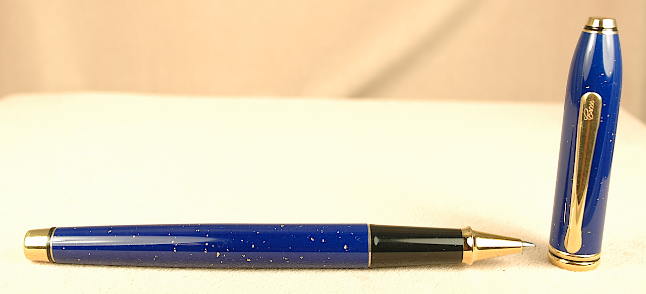 Pre-Owned Pens: 2506: Cross: Townsend Lapis Lazuli