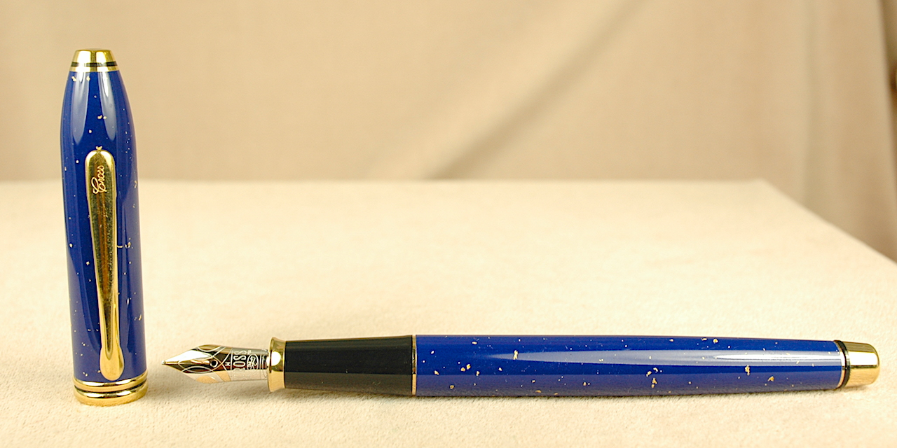 Pre-Owned Pens: 2507: Cross: Townsend Lapis Lazuli