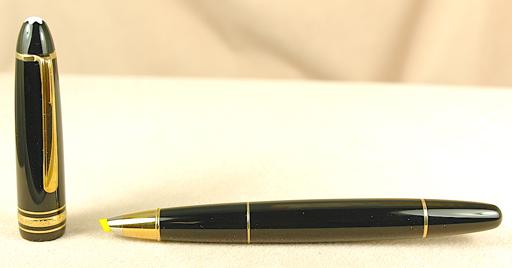 Pre-Owned Pens: 2582: Mont Blanc: 166 Document Marker