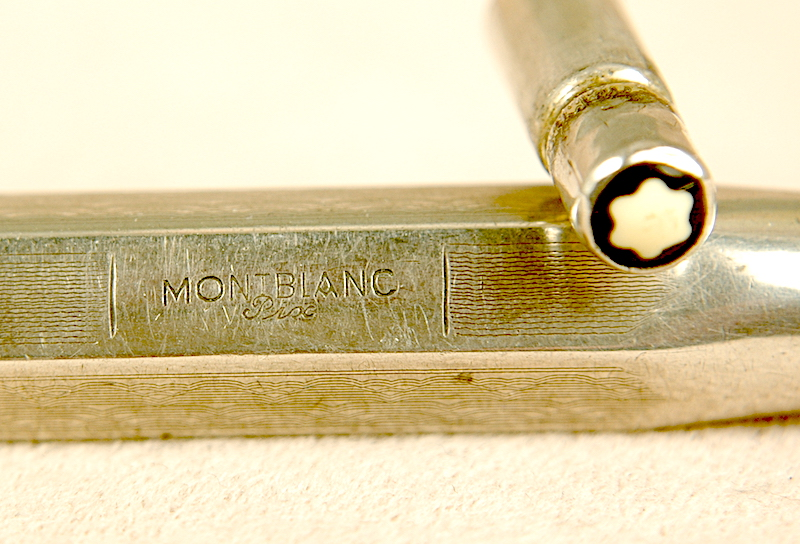Vintage Pens: 2597: Mont Blanc: Sterling Silver Pix