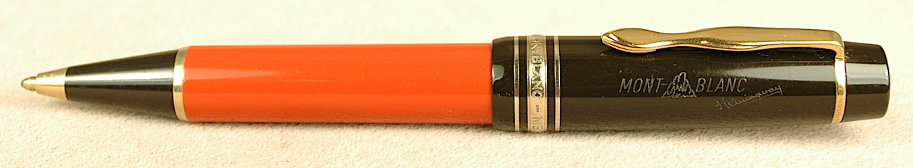 Pre-Owned Pens: 2606: Mont Blanc: Hemingway Writers Series