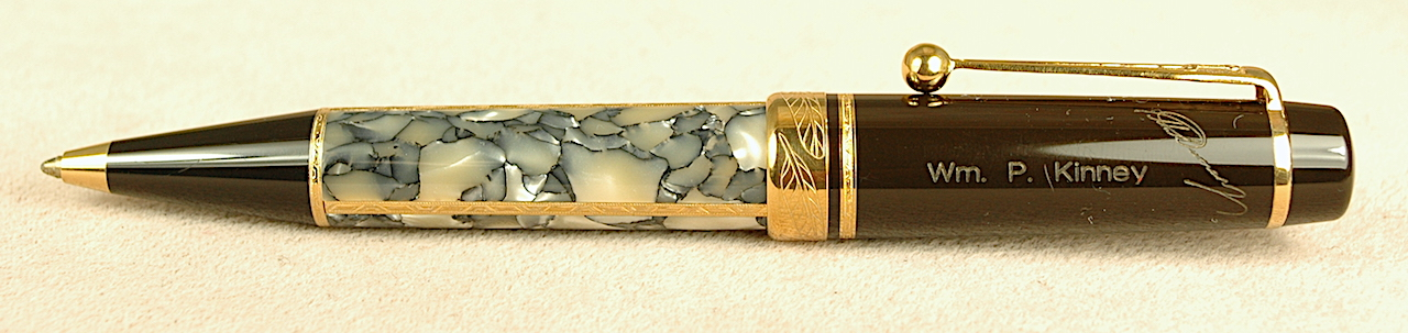 Pre-Owned Pens: 2608: Mont Blanc: Dumas Writers Series