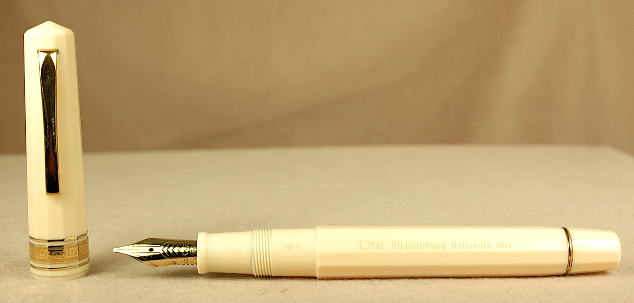 Pre-Owned Pens: 2713: Omas: Biblioteque Nationale