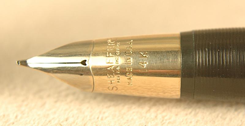 Vintage Pens: 2770: Sheaffer: Sentinel Deluxe