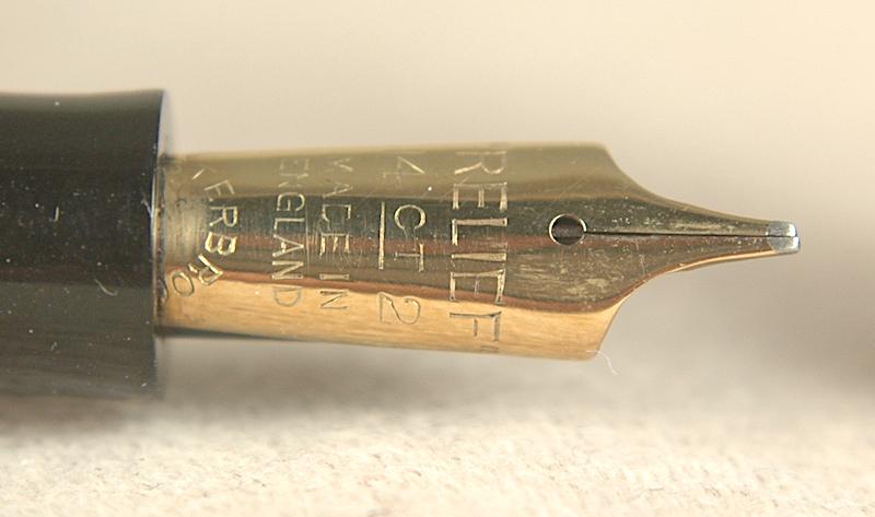 Vintage Pens: 3436: Relief: 2-L