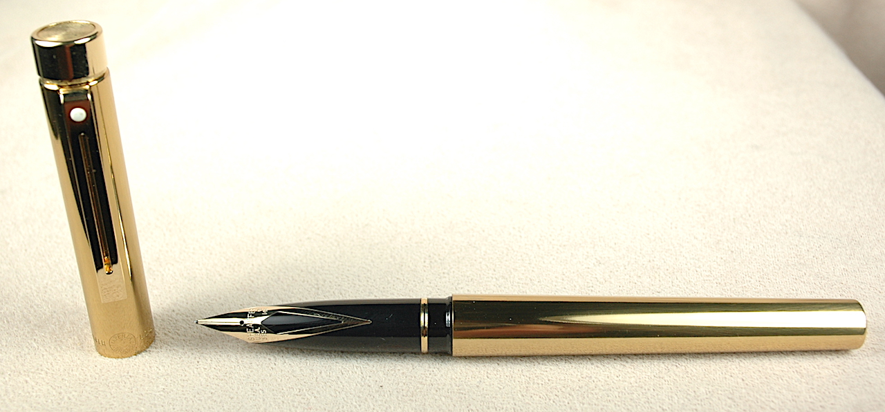 Vintage Pens: 3559: Sheaffer: Targa Imperial Brass