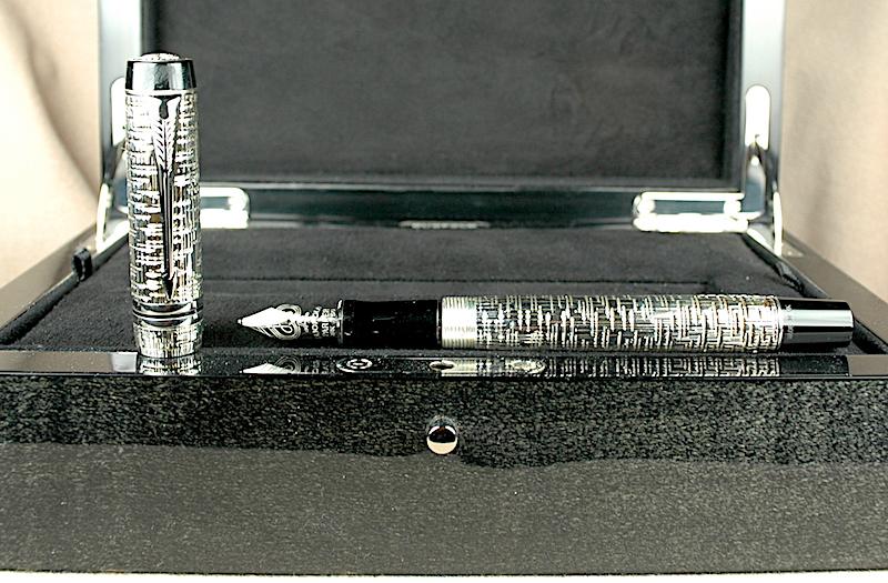 CT Vintage Waterman Graduate Brushed Steel Ballpoint Pen