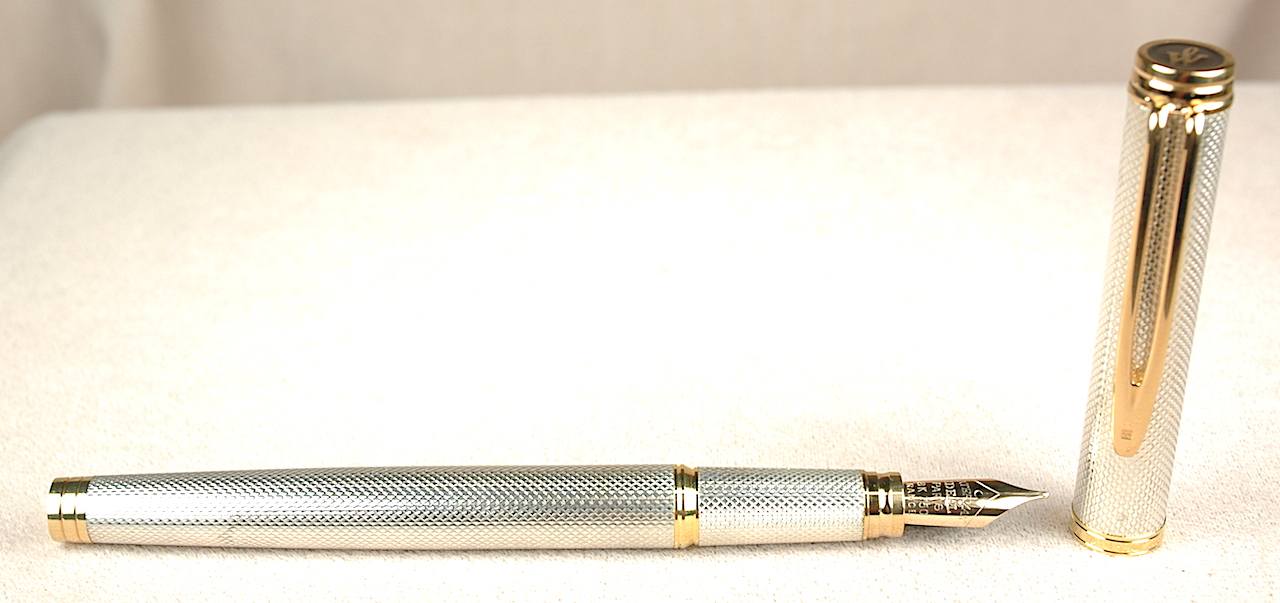 Pre-Owned Pens: 3675: Waterman: Gentleman Sterling Barleycorn