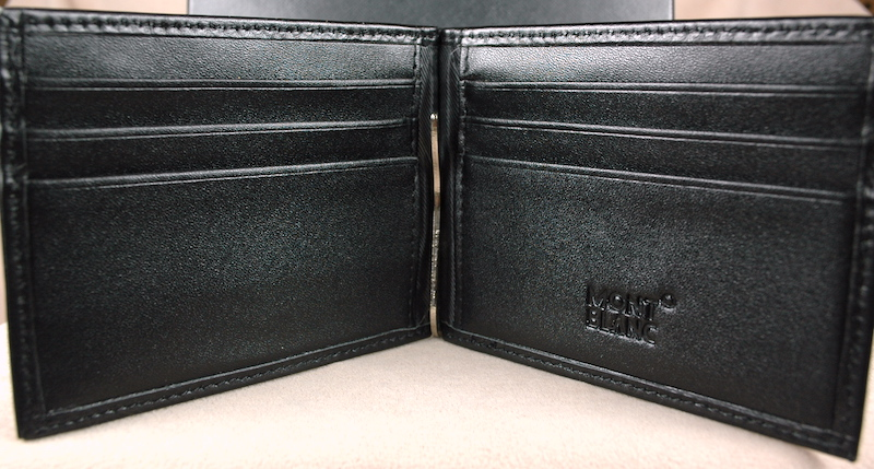 Pre-Owned Pens: 4029: Mont Blanc: Wallet