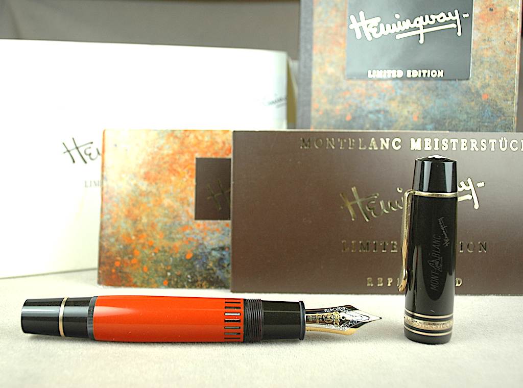 Pre-Owned Pens: 4087: Mont Blanc: Hemingway Writers Series