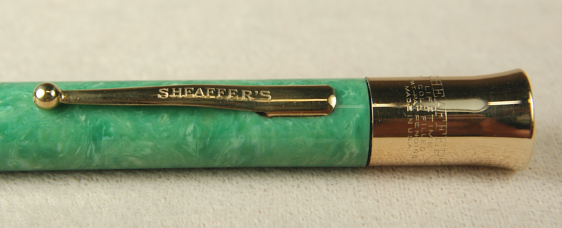 Vintage Pens: 4131: Sheaffer: Flat Top