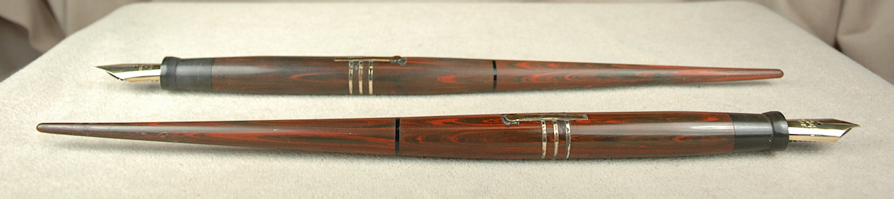 Vintage Pens: 4155: Wahl-Eversharp: Desk Pen Set
