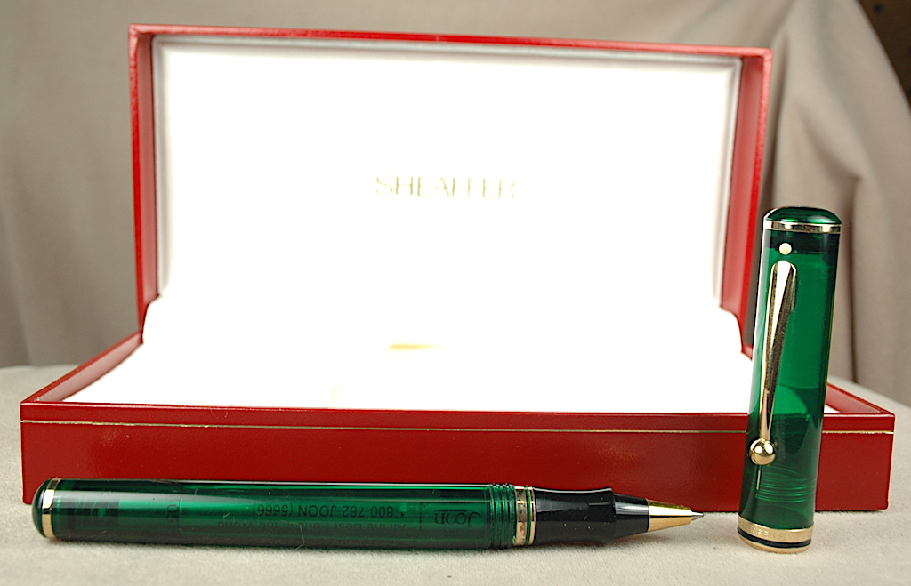 Pre-Owned Pens: 4304: Sheaffer: Connaisseur Levenger Seas Aegean
