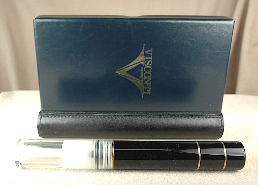 Pre-Owned Pens: 4384: Visconti: Traveling Ink Pot